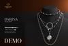 Romazin - Necklaces  <Darina>, resize, DEMO
