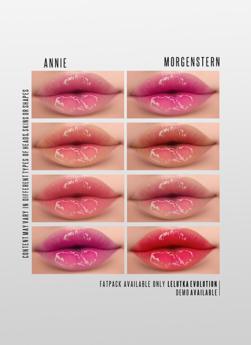 MORGENSTERN: ANNIE LIPSTICK [LELUTKA EVOLUTION]
