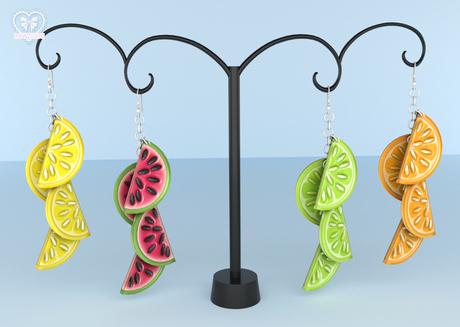 Bowtique - Fruit Slice Earrings