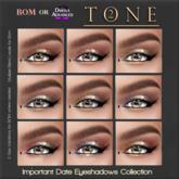 TONE 2 - Important Date for BOM/OMEGA Eye Makeup  (wear)