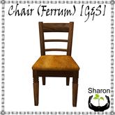 Chair (Ferrum) [G&S]