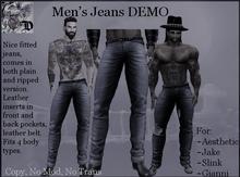Men's Jeans DEMO (ADD ME)