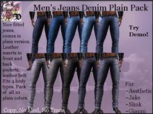 Men's Jean Plain Pack (ADD ME)