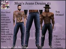 Men's Jeans Denim # 1 (ADD ME)
