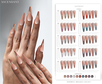 Ascendant - Chrome French Nails Fatpack