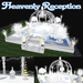 VIP Selection HEAVENLY WEDDING RECEPTION with animations poses and decorations special Effects