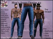 Men's Jeans Denim # 2 (ADD ME)