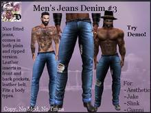 Men's Jeans Denim # 3 (ADD ME)