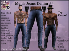 Men's Jeans Denim # 5 (ADD ME)