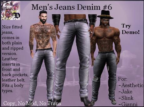 Men's Jeans Denim # 6 (ADD ME)