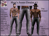 Men's Jeans Denim # 7 (ADD ME)