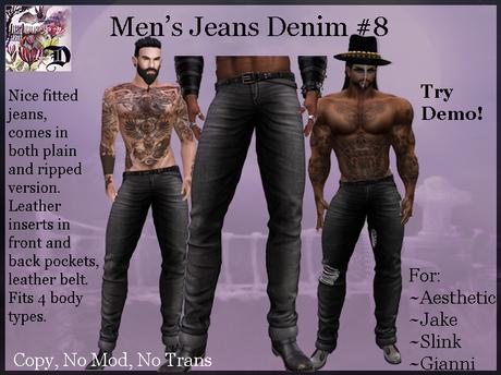 Men's Jeans Denim # 8 (ADD ME)