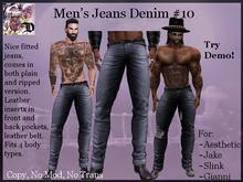 Men's Jeans Denim # 10 (ADD ME)