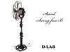 D-LAB Stand Swing fan  B