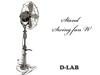 D-LAB Stand Swing fan W