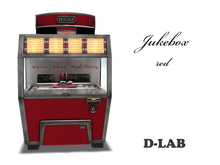 D-LAB Jukebox red