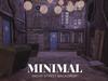 MINIMAL - Night Street Backdrop