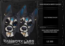 [RL] RAINS ROUND & NERDY GLASSES BOX