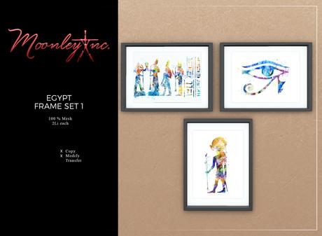 Moonley Inc. - Egypt Frame Set 1