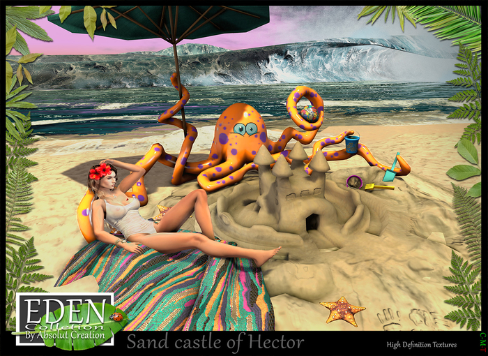 (*.*) Sand castle of Hector