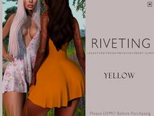 **RIVETING ~ Summer Fling Dress {Yellow} {Add}