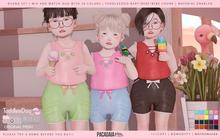 Pacagaia Kids - Ruana set - TDB & BEBE & BEBECHONK -ADD-