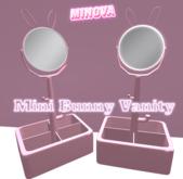 Pink Mini Bunny Vanity