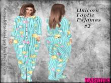 Tastic-Unicorn Footie Pajamas #2 Kupra Update!