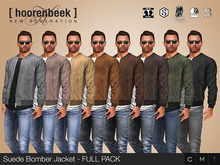 Suede Bomber Jacket - FULL PACK - Signature, Legacy, Belleza, SLink, Classic Avatar