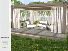 @ home: Gazebo with curtains