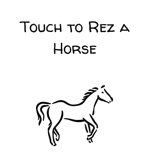 Water horse and Copy teeglpet giver and teegle pet rezzer set