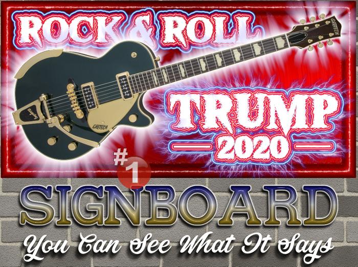 #1 STORE★★★★★ Rock 'n' Roll TRUMP 2020 ★★★★★