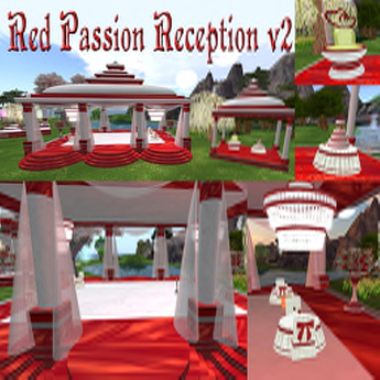 -70% Hot Price ! RED PASSION RECEPTION with animations poses and decorations