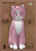 KittyCatS Box - Chateau Cat - Pink & White No. 1 - Double Odyss
