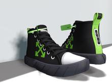 Chuck sneakers ~Emoji-green~