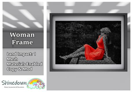 Shinedown - Woman Frame