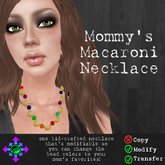 Vicarious Vitae - Mommy's Macaroni Necklace