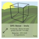 DFS Stove - Invis