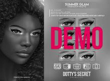 Dotty's Secret - Summer Glam - Eyeshadow Palette [DEMO]