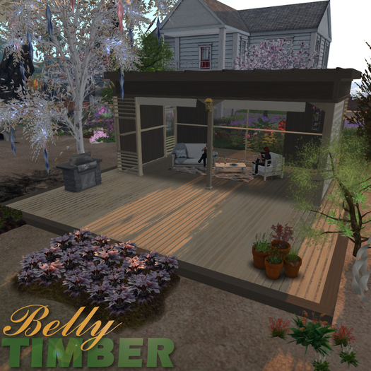 Second Life Marketplace Hagestue Norway Garden Lounge Style 01