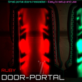 [inZoxi] - BOX - Experience Portal Door - Ruby
