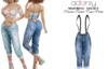adorsy - Dacota Denim Pants Blue - Maitreya/Legacy