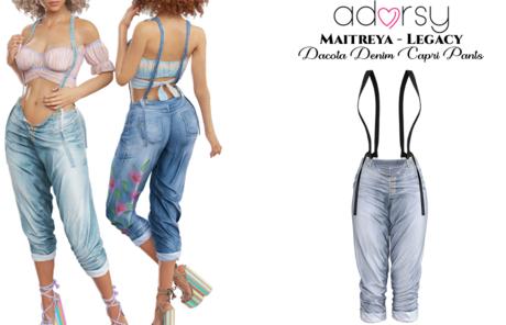 adorsy - Dacota Denim Pants Faded - Maitreya/Legacy
