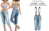 adorsy - Dacota Denim Pants Splash - Maitreya/Legacy