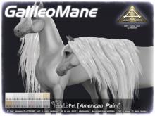 ABADDON ARTS - Galileo Mane PLATINUM [Teeglepet American Paint]