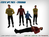 Static Star Trek NPC Set - Male