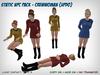 Static Star Trek NPC Set - Female Updo