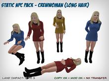 Static Star Trek NPC - Female Long Hair