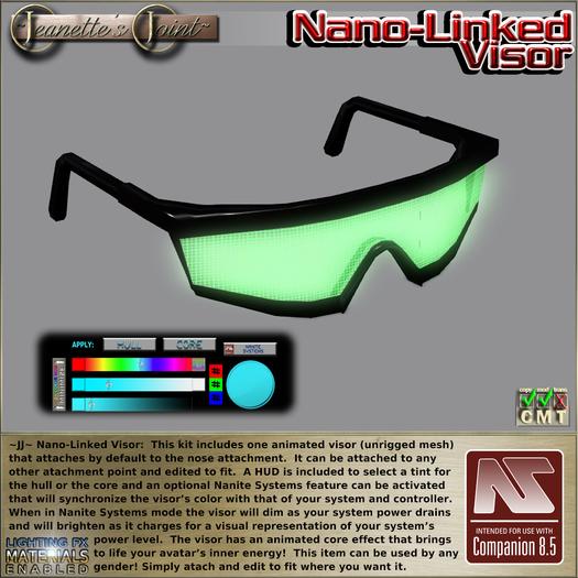 ~JJ~ Nano-Linked Visor