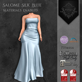 **Mistique** Salome Silk Blue{wear me and click to unpack)